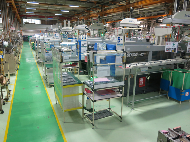 Two Color Molding Machine